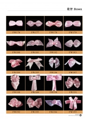 Bra satin ribbon bows 8